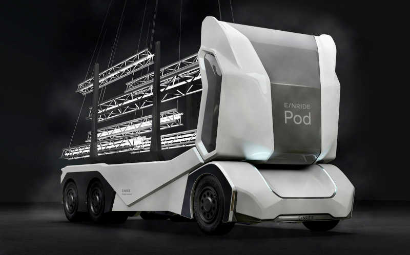 Einride brings future of transport to Slush