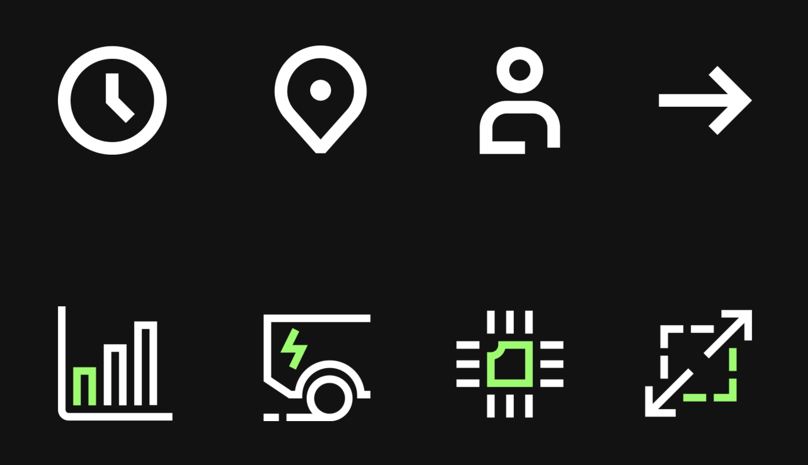 Einride Functional Icons