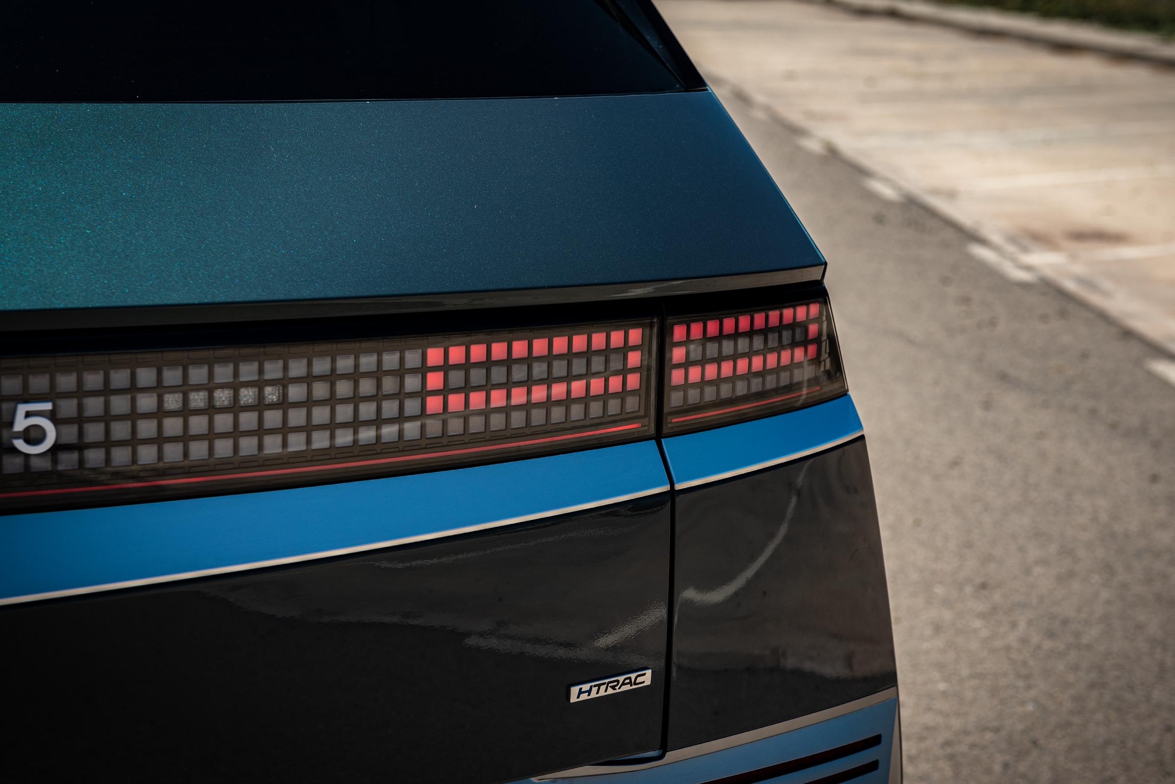 Hyundai Ioniq 5 pixels