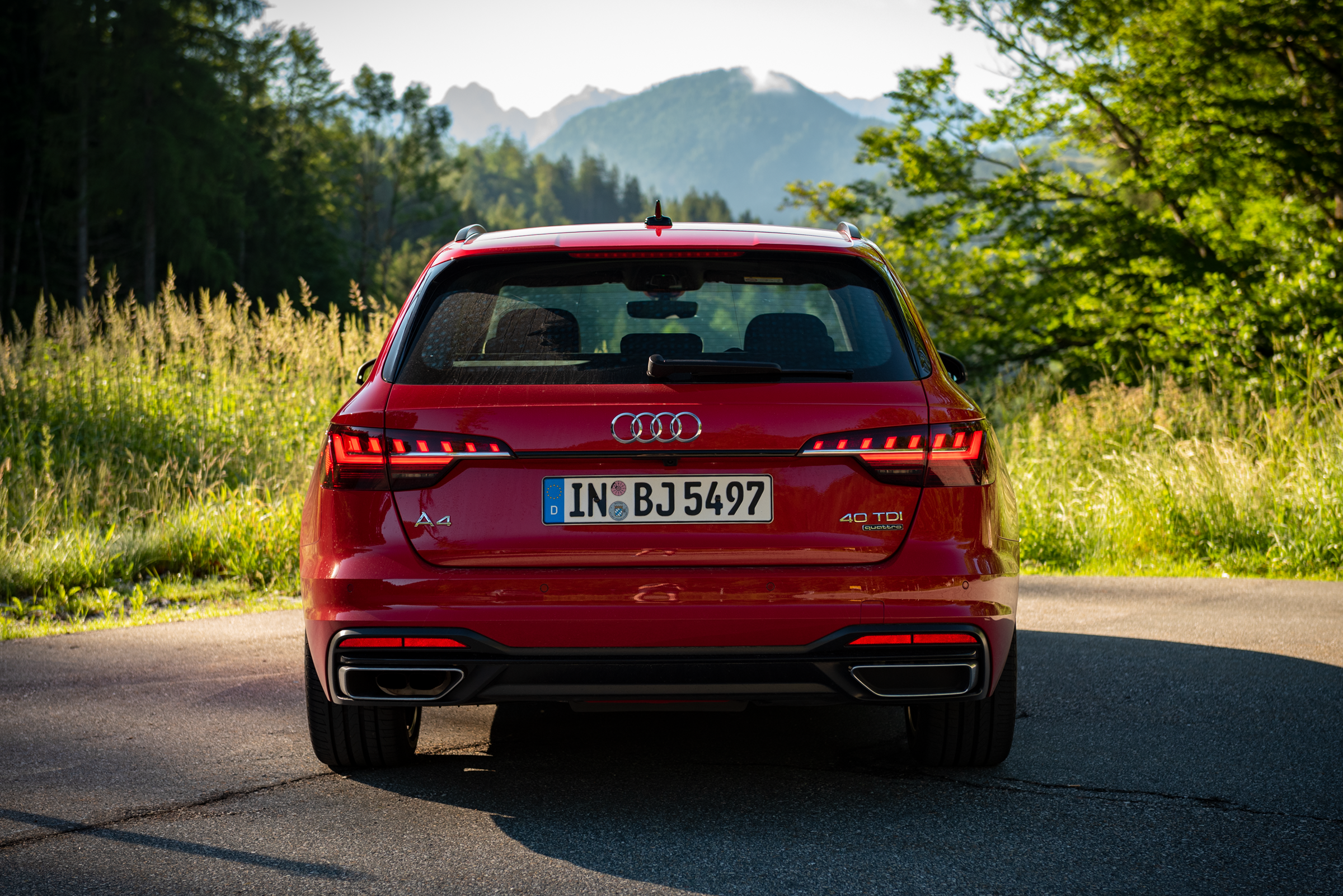 Audi-A4-Avant-2021-Rear