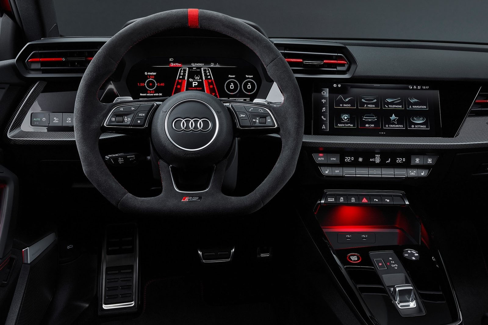 Audi RS3-2022 interior