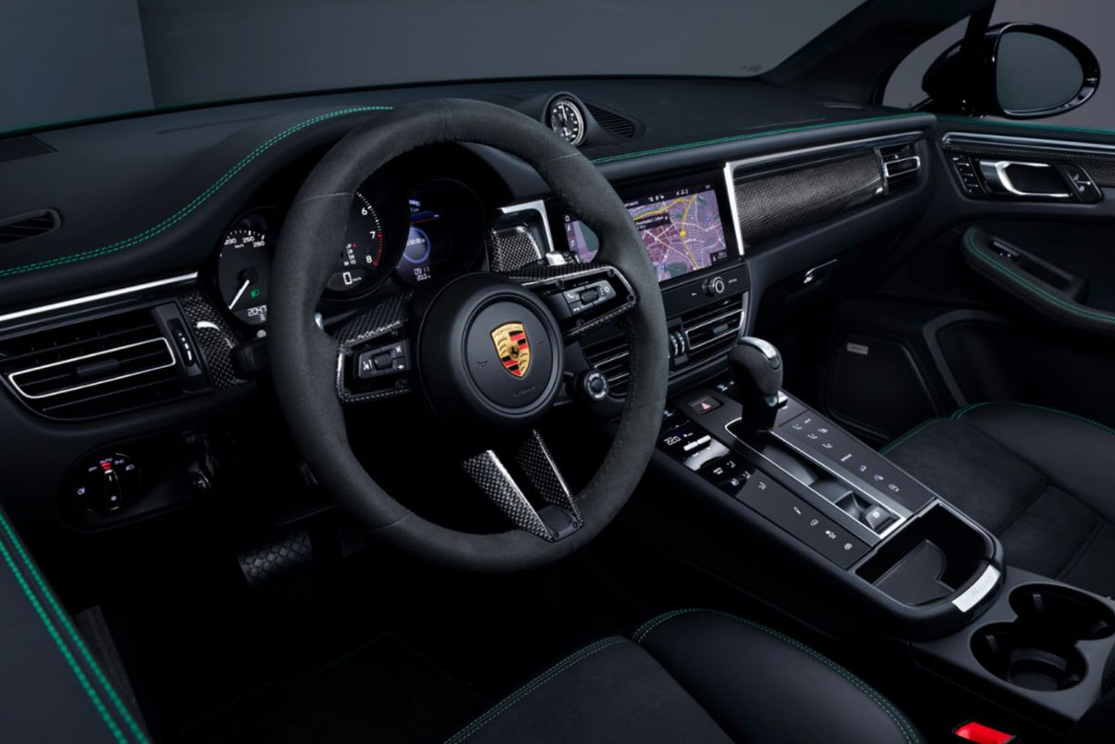Porsche Macan 2022 interior