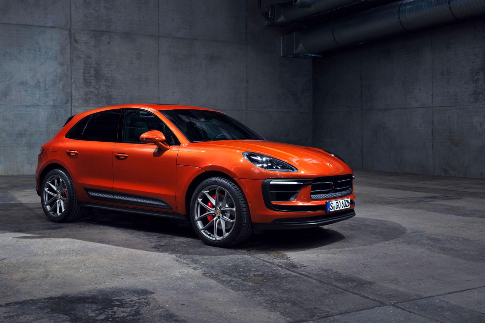 Porsche-Macan-2022-Front-Side