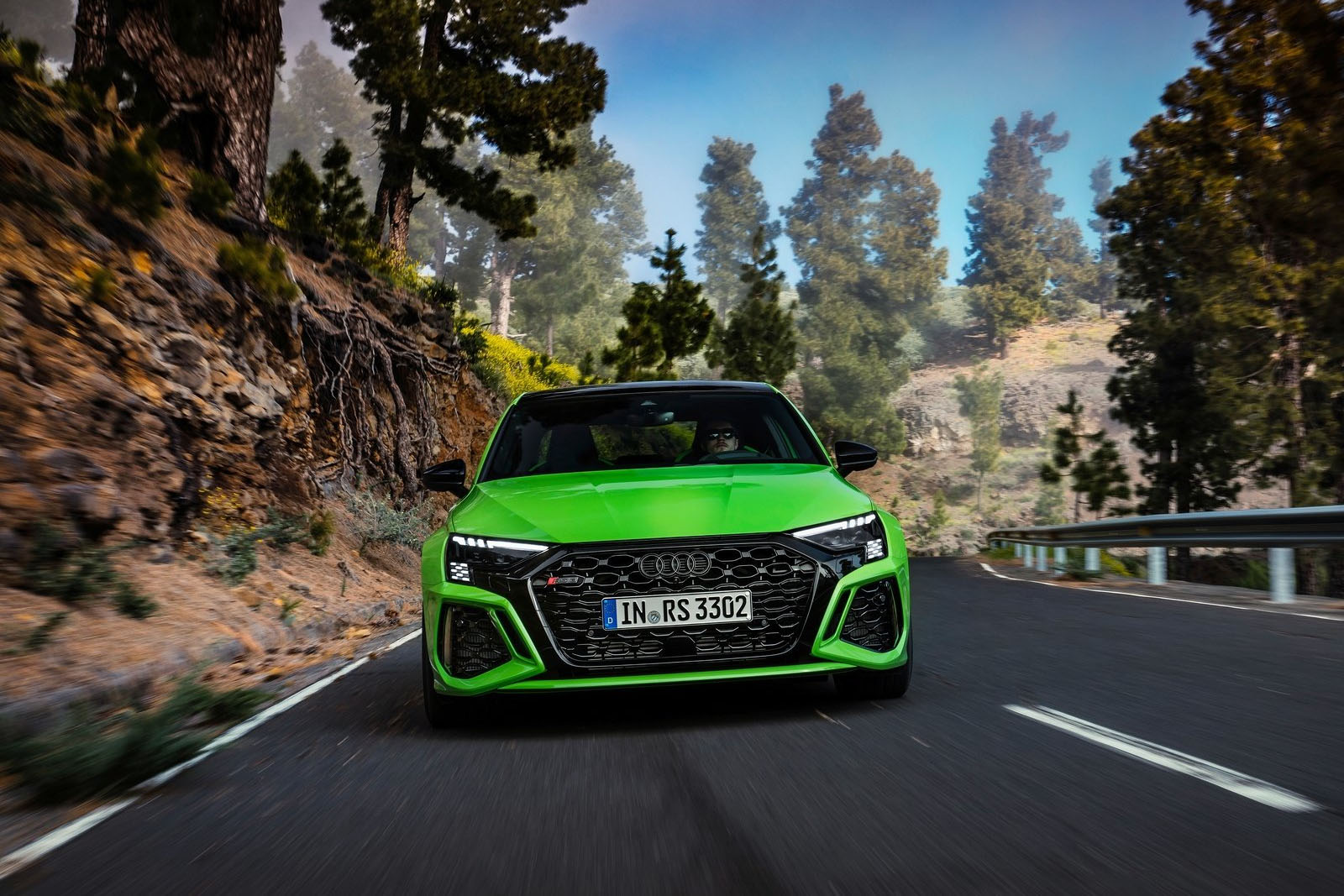 Audi RS3-2022 front