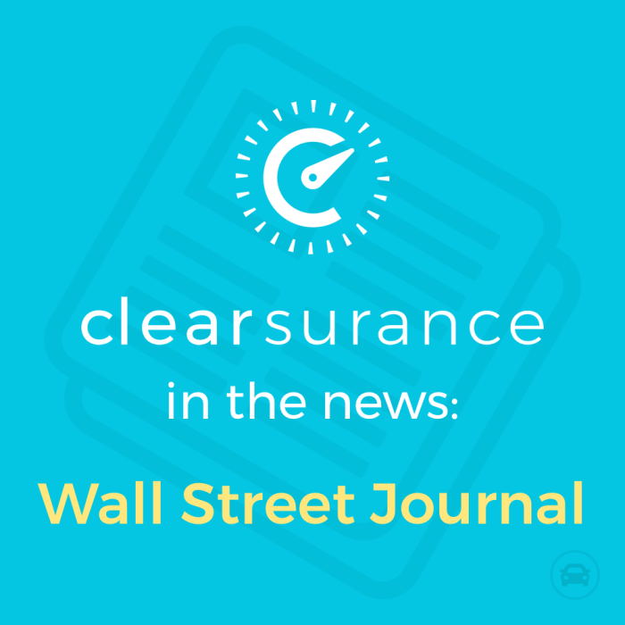 Clearsurance Wall Street Journal