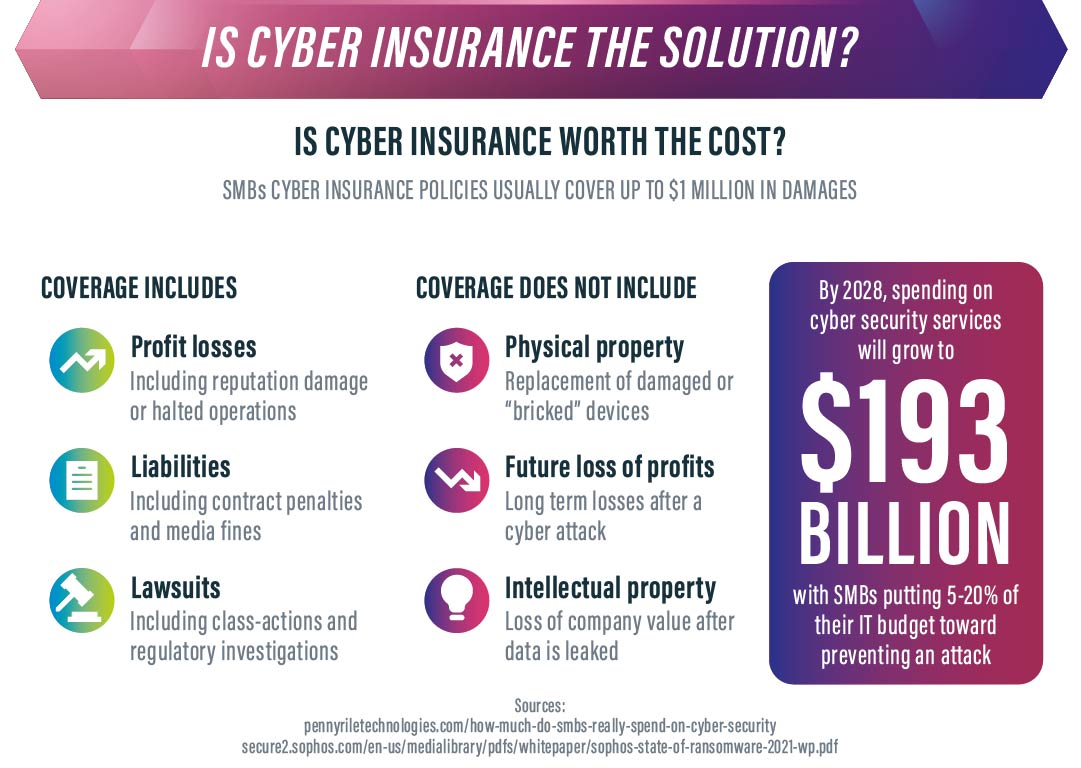 is cyber insurance the solution