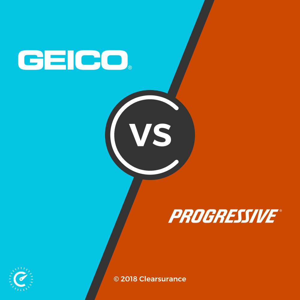 geico vs progressive clearsurance