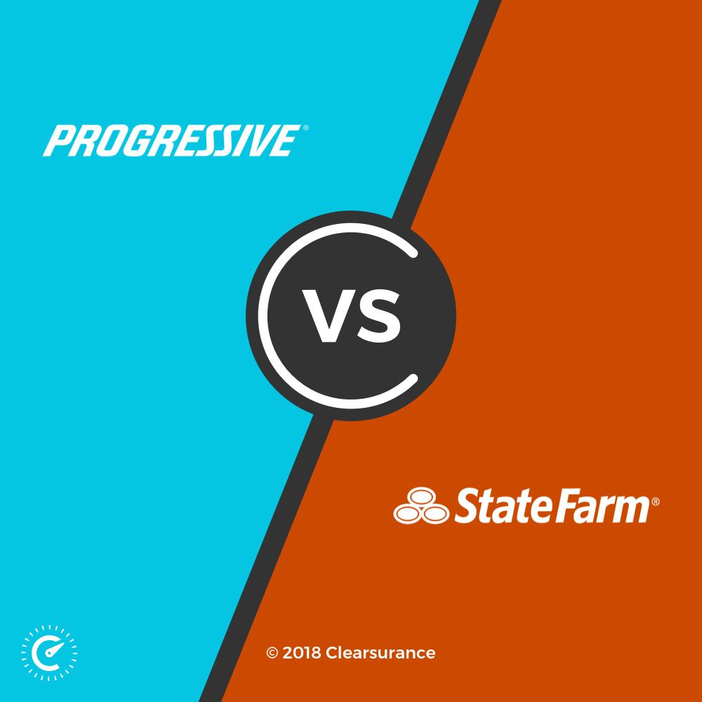 Progressive vs. State Farm: Compare the top car insurance companies