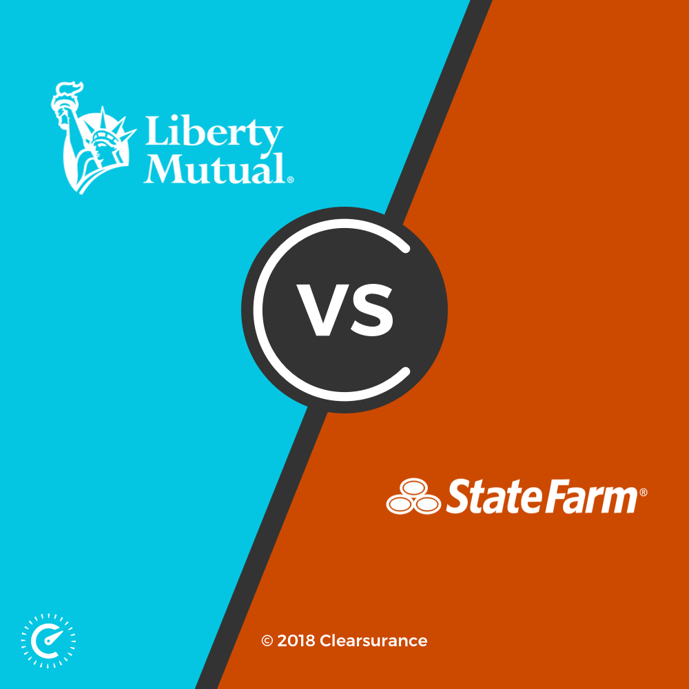 Liberty Mutual Vs State Farm Consumer Ratings And Rates Clearsurance