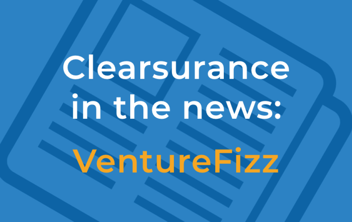 Clearsurance in the news: VentureFizz