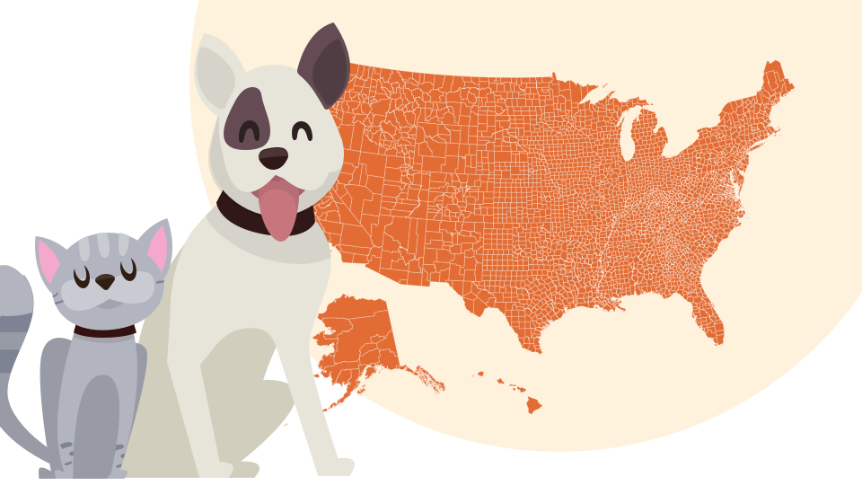 pets across the united states