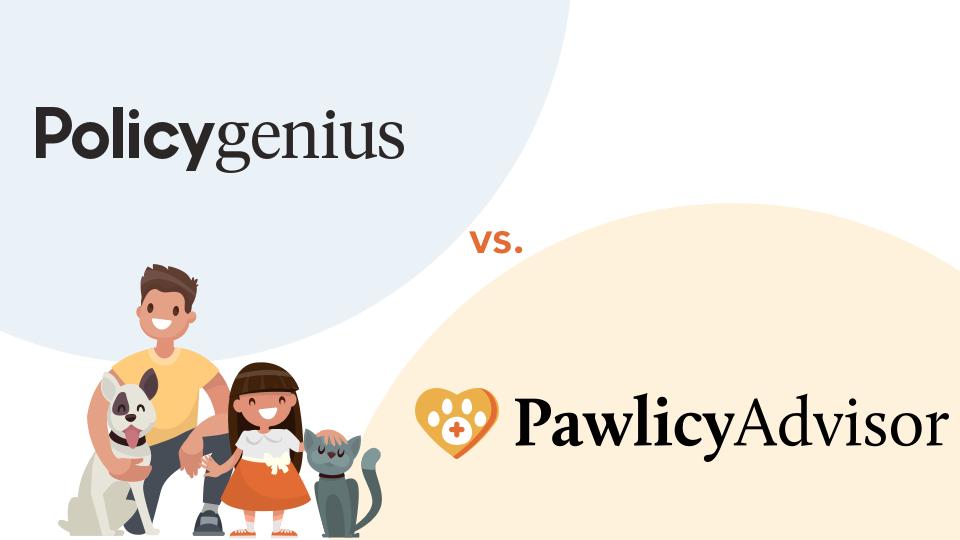 Policygenius vs Pawlicy Advisor pet insurance