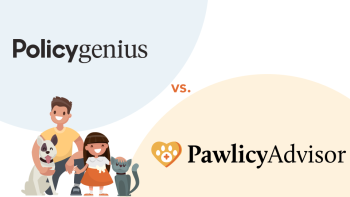 Policygenius vs Pawlicy Advisor pet insurance