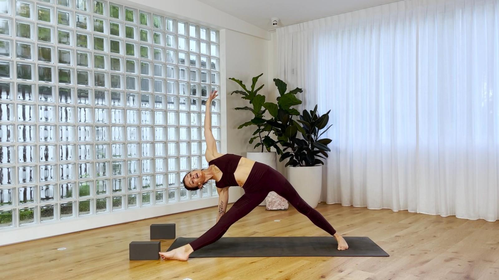 Side Plank Flow with Rebecca Lockyer