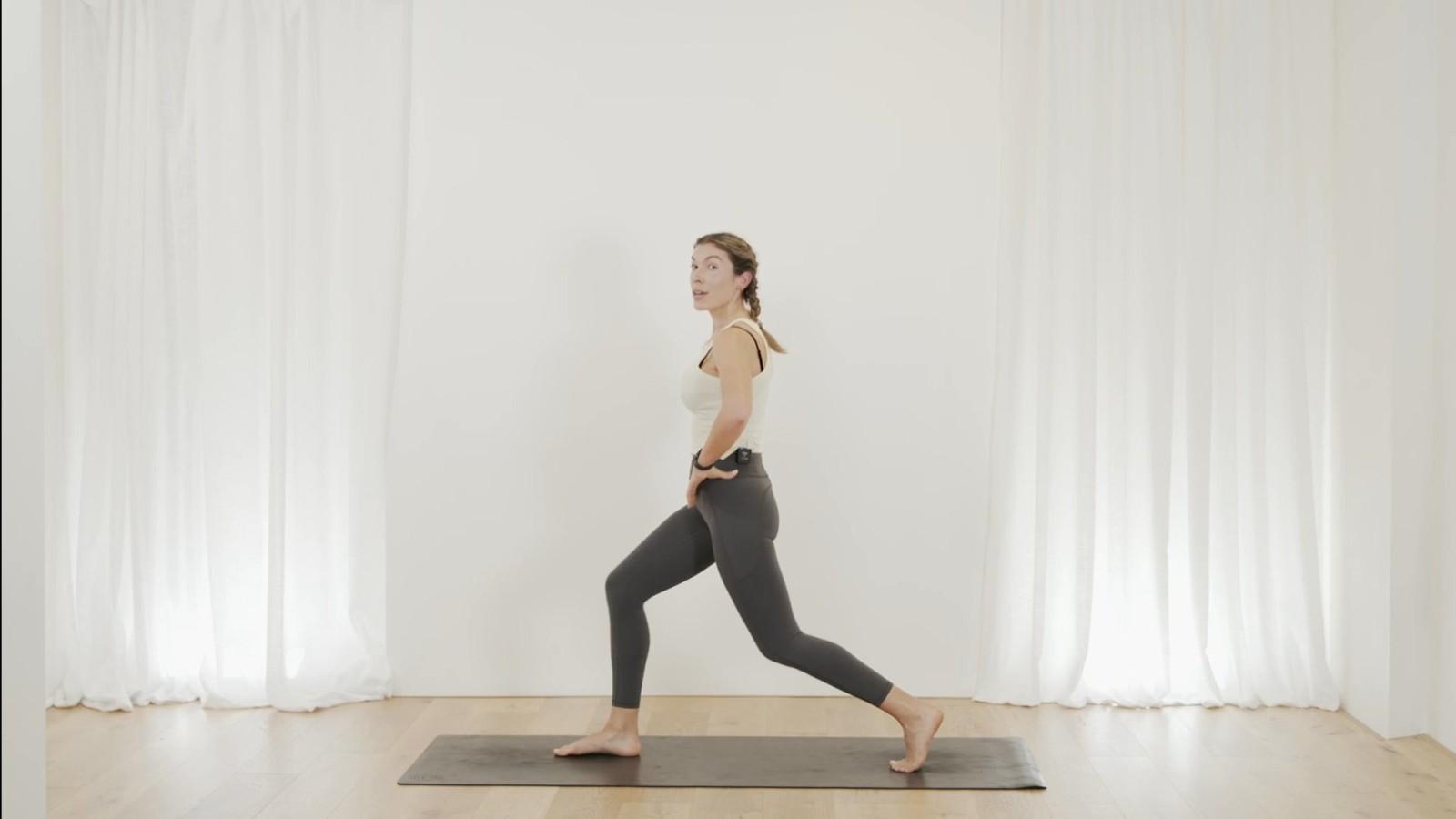 Hiit workout with Edwina Mumby