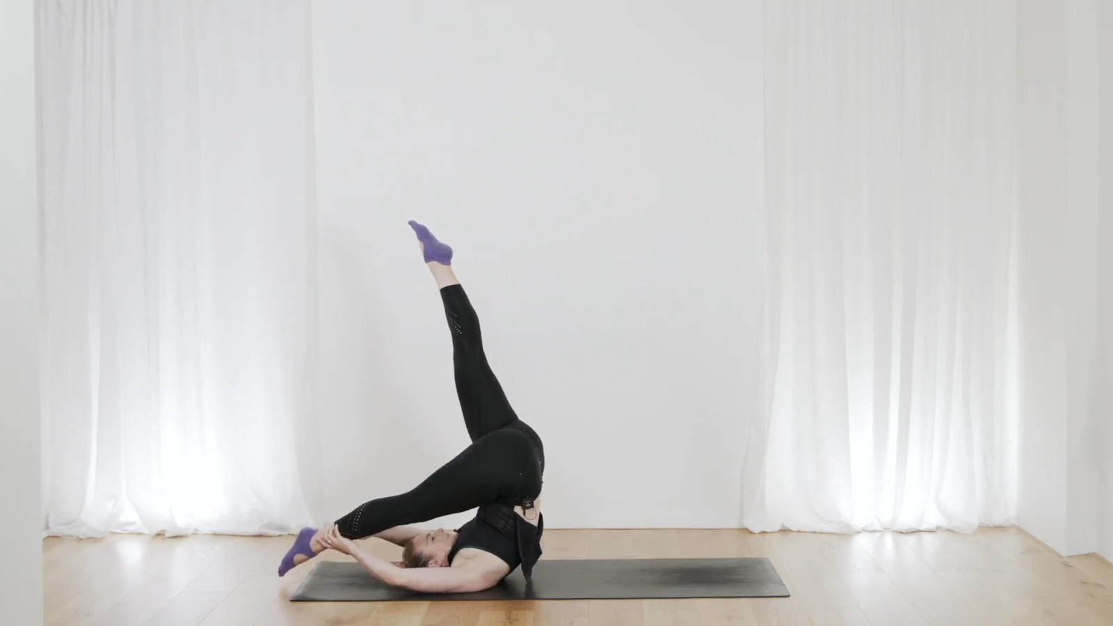 Spring Feels Intermediate Level Pilates Mat with Juju Leith