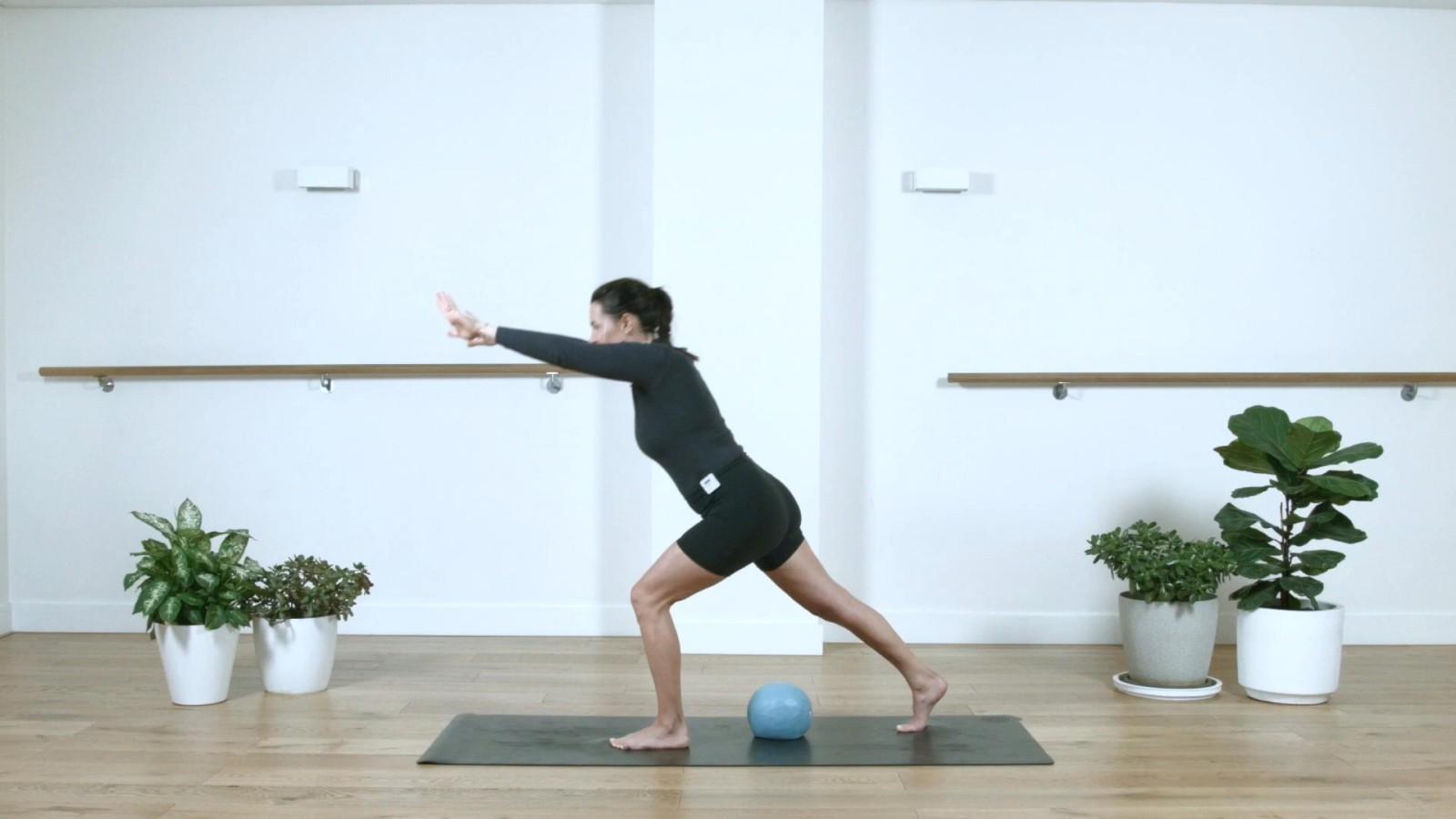 Full Body Toning Using Ball with Aneta Bachanova