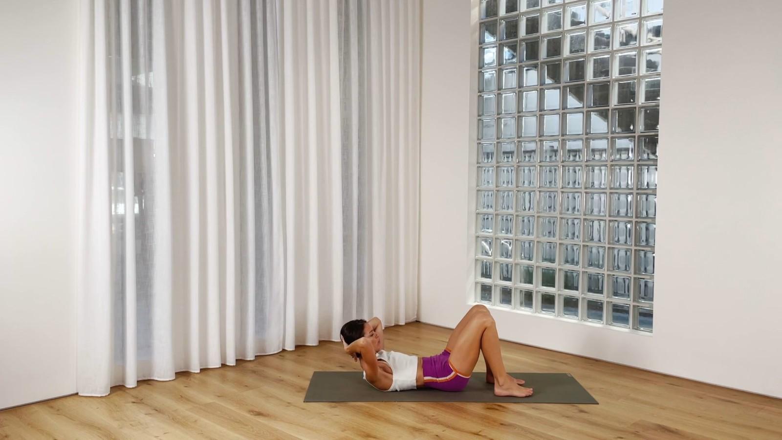 Basic Pilates Mat with Rebecca Lockyer