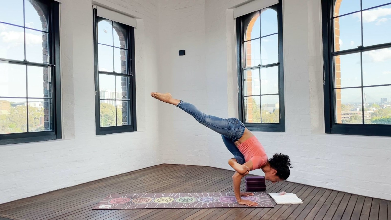 Open Hips In Flying Pigeon with Claudine Lafond