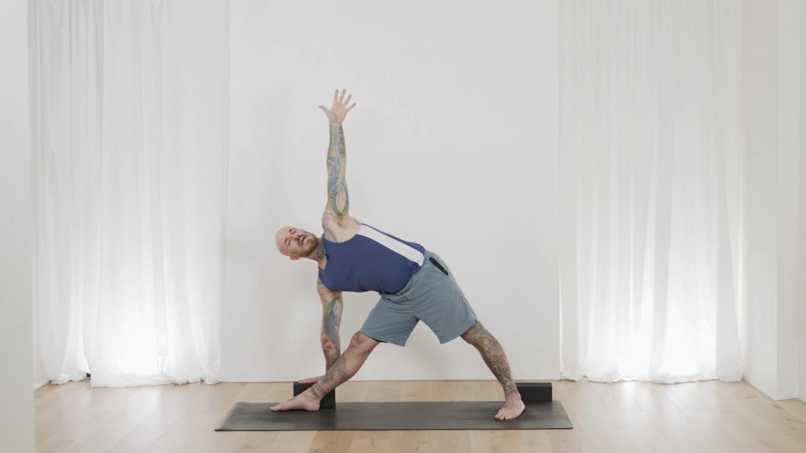 Yoga Foundations - Understanding Triangle Pose with Ari Levanael