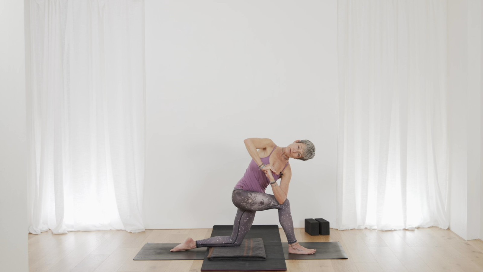 Forrest Yoga for Beginners 2 of 6 with Beth Borowsky