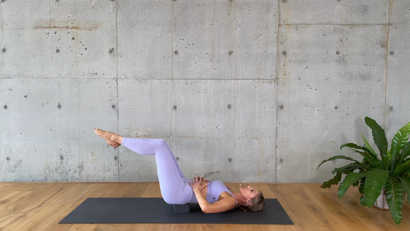 Yoga Block Legs and Abs with Mardi Gannon