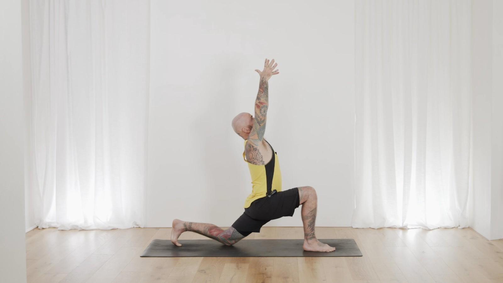Yoga Foundations - Classical Chandra Namaskar with Ari Levanael