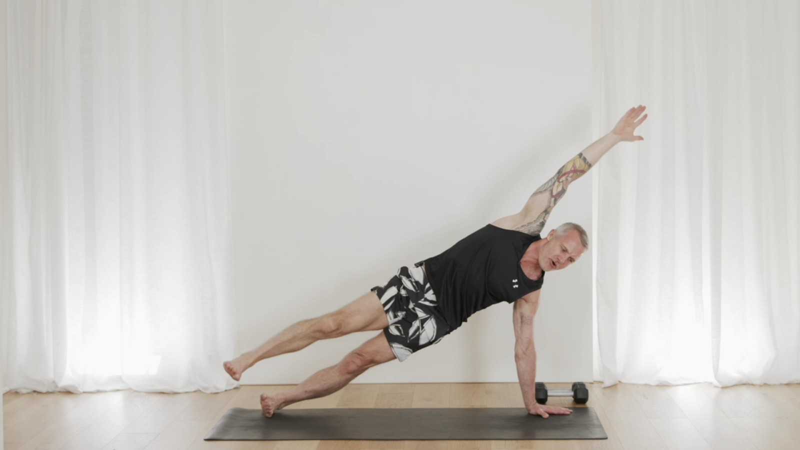 Core Challenging Total Body Workout with Mark Moon