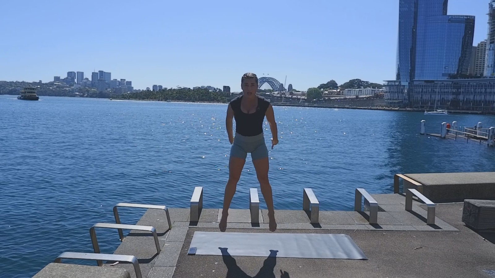 HIIT The Harbour with Angela Mitchell