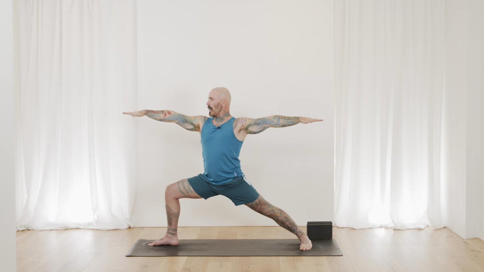 Yoga Foundations - Warrior 1 & 2 with Ari Levanael