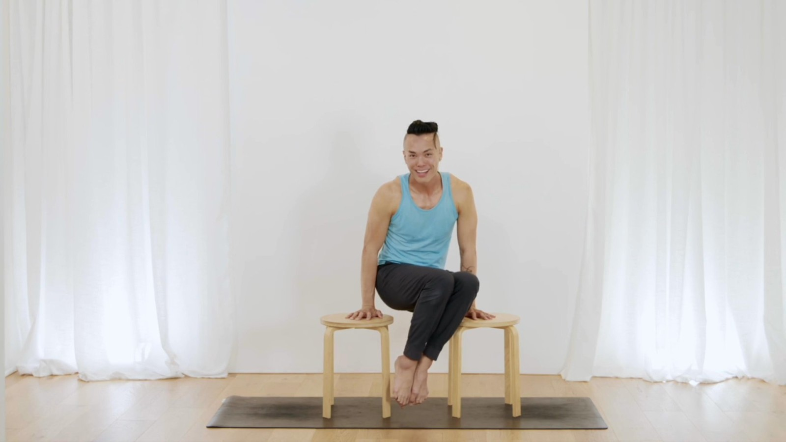 Core Workout On The Chair with Johnson Chong