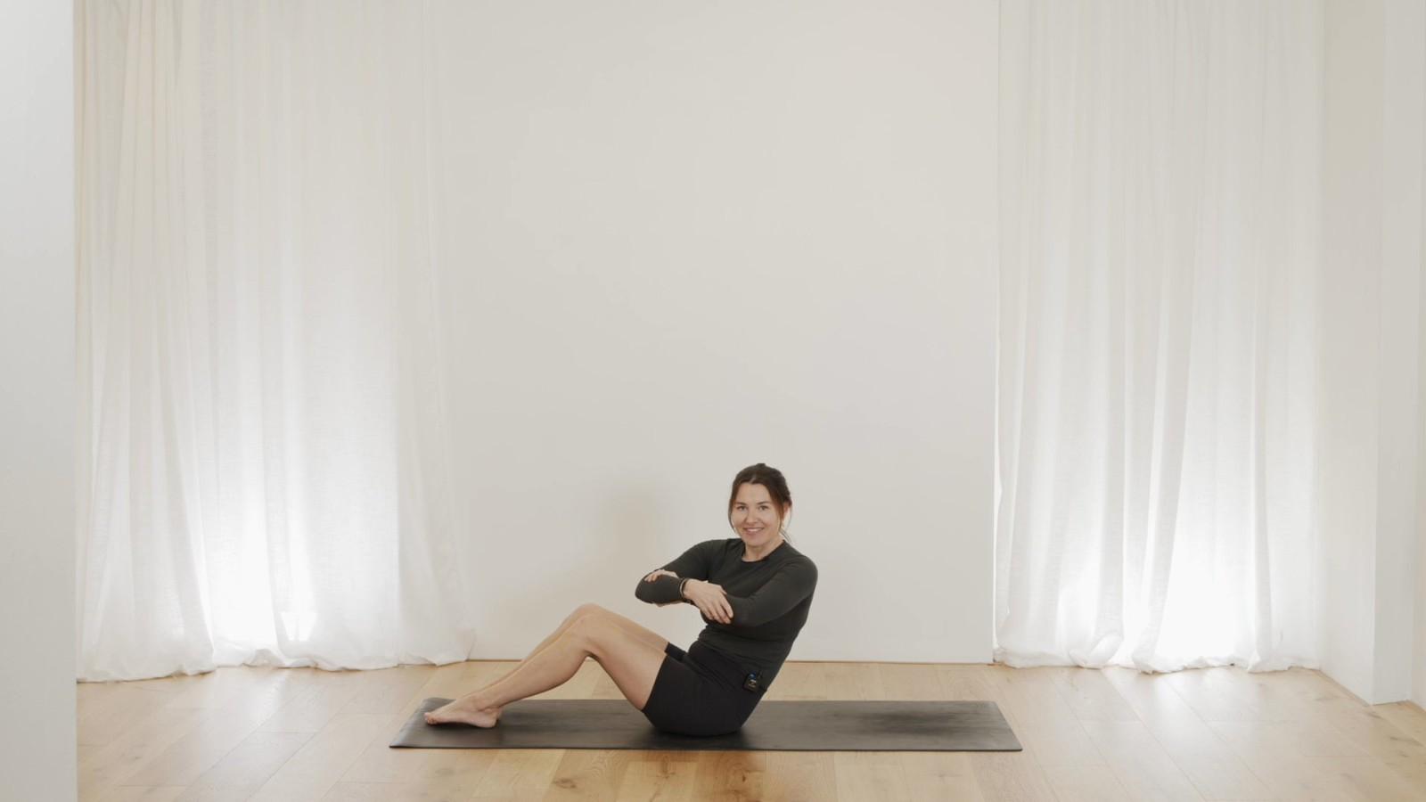 Total Core & Arms Pilates Workout with Aneta Bachanova
