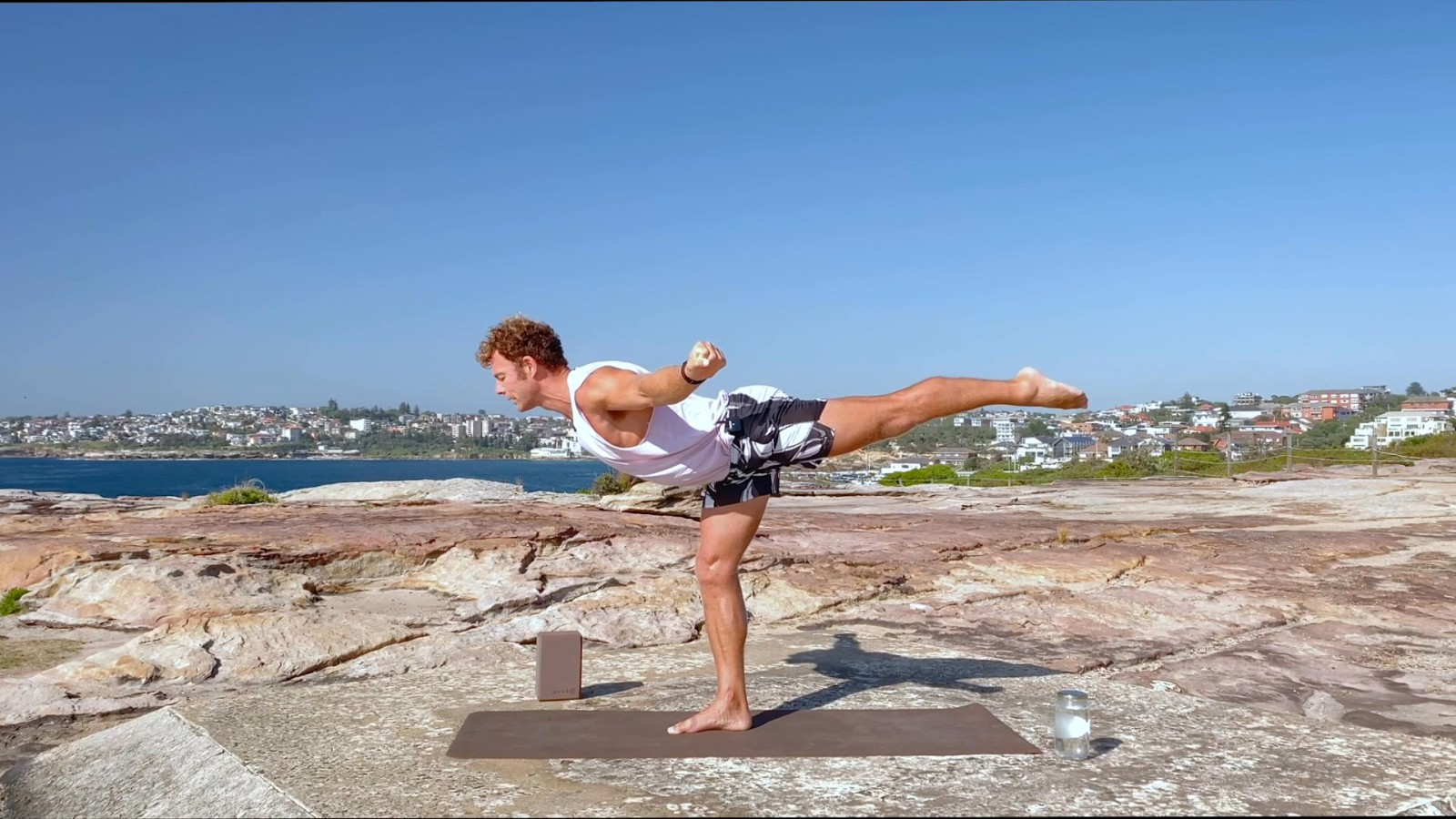 Yoga at the Beach with Christian Ralston