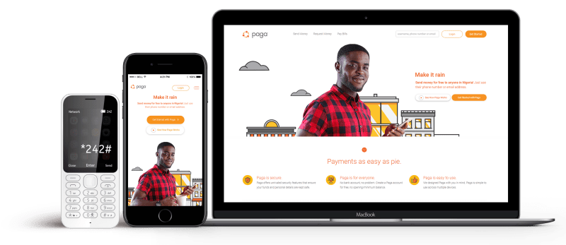 Paga: Send and Receive Money