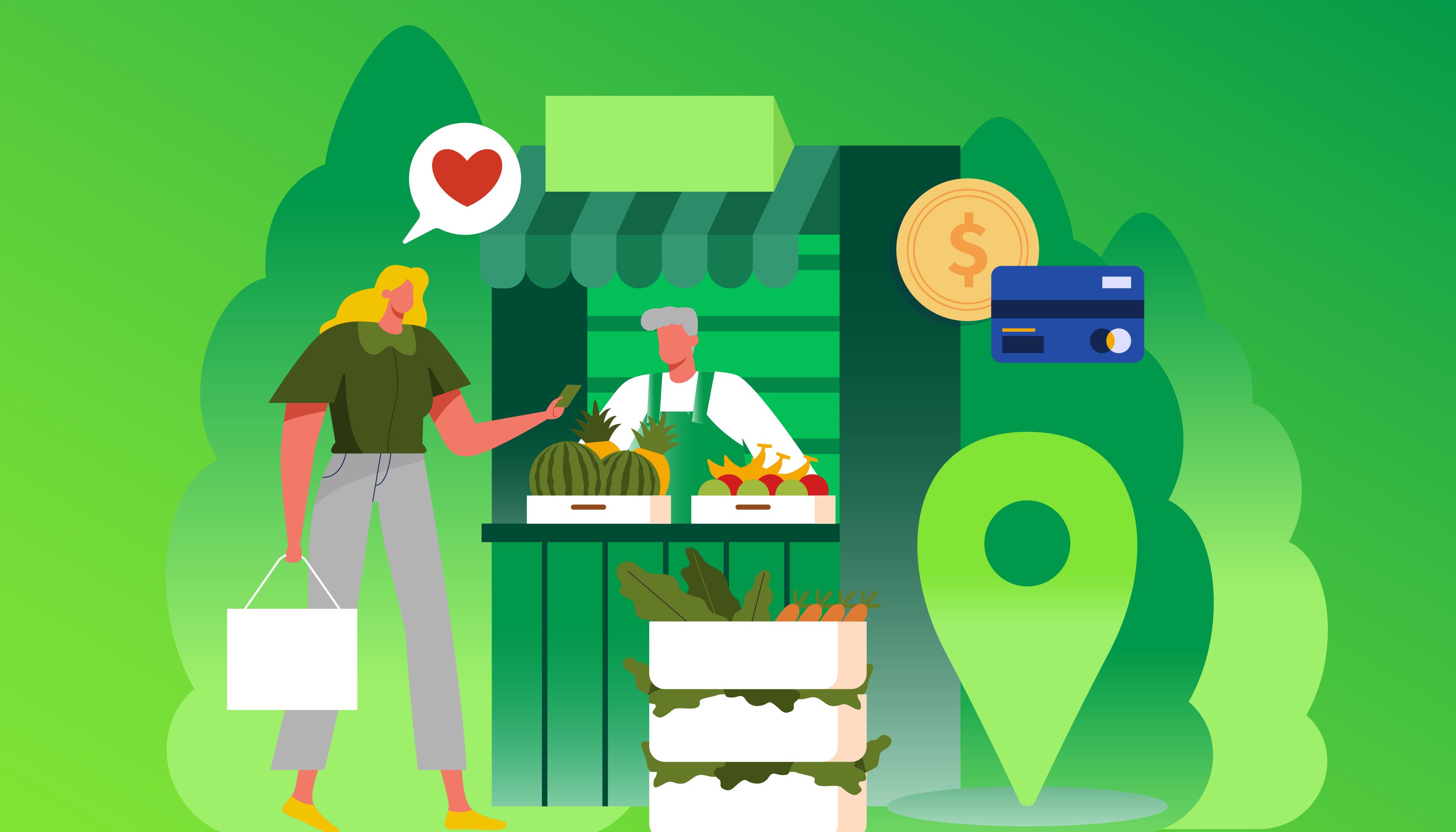 Imagem de capa Pequenos negócios locais ganham força na pandemia