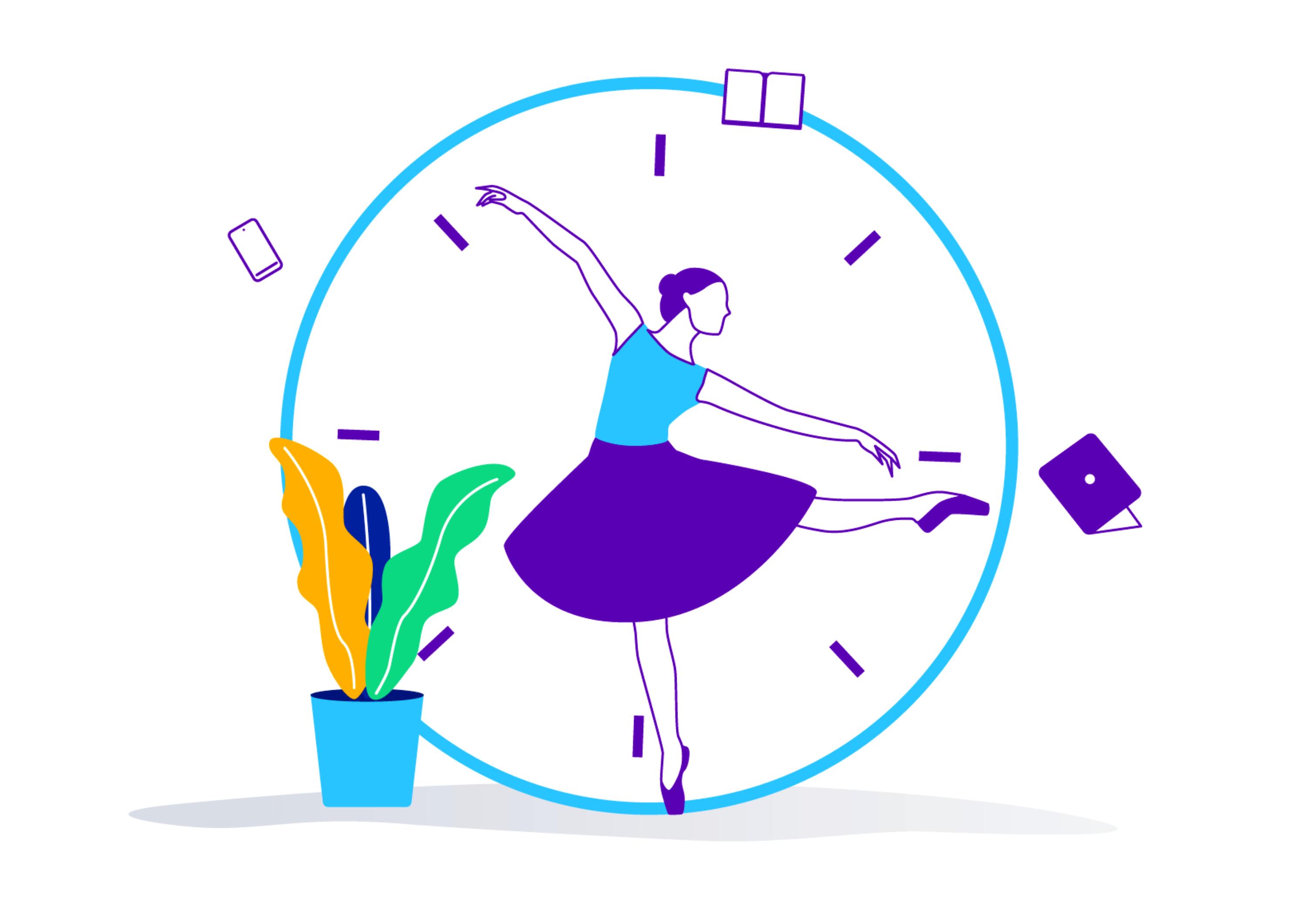 Artigo Ballet, minha inspiração para a agilidade organizacional