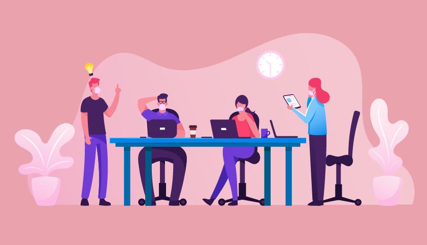 Artigo Cinco pilares da gestão de pessoas no trabalho híbrido
