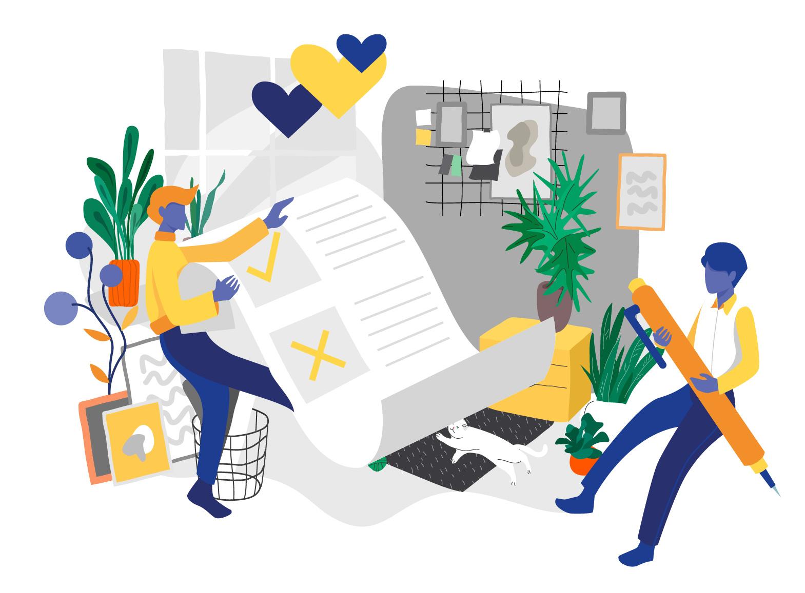Artigo Remote work experience