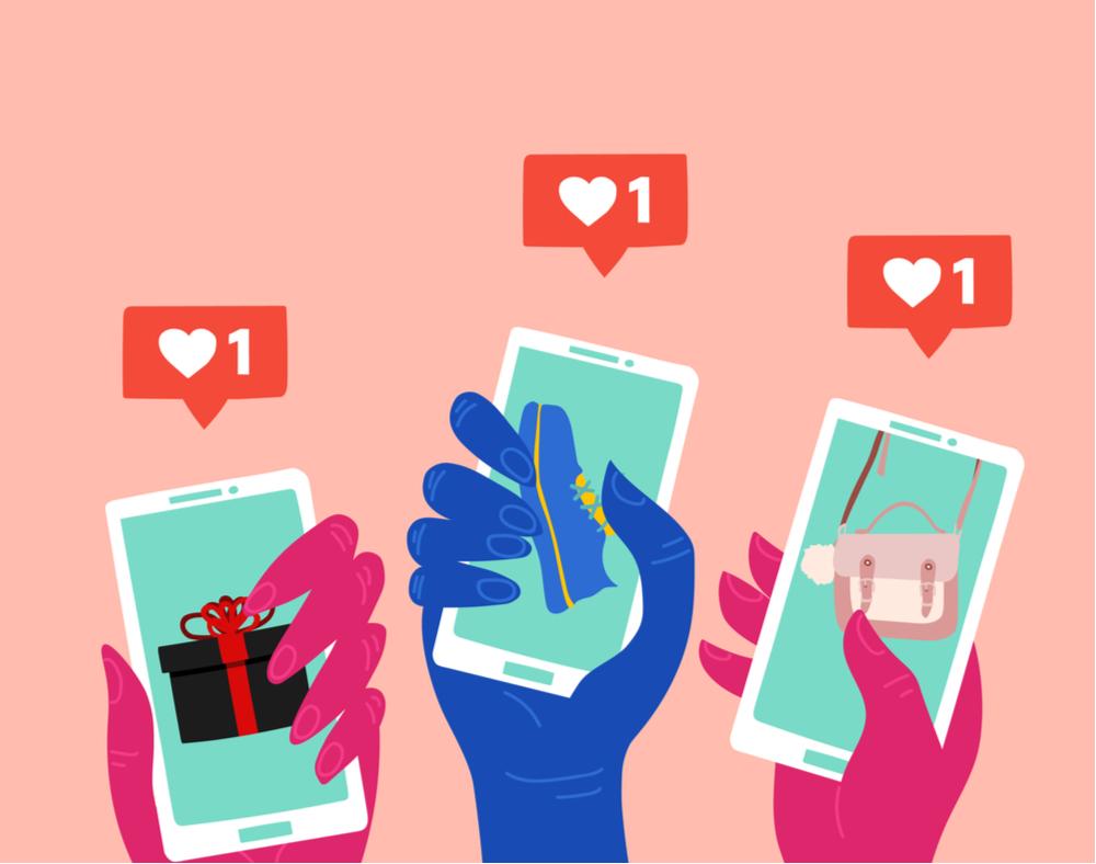 Artigo Novo shopping center: consumidores trocam o conhecido pelo novo em compras no Instagram