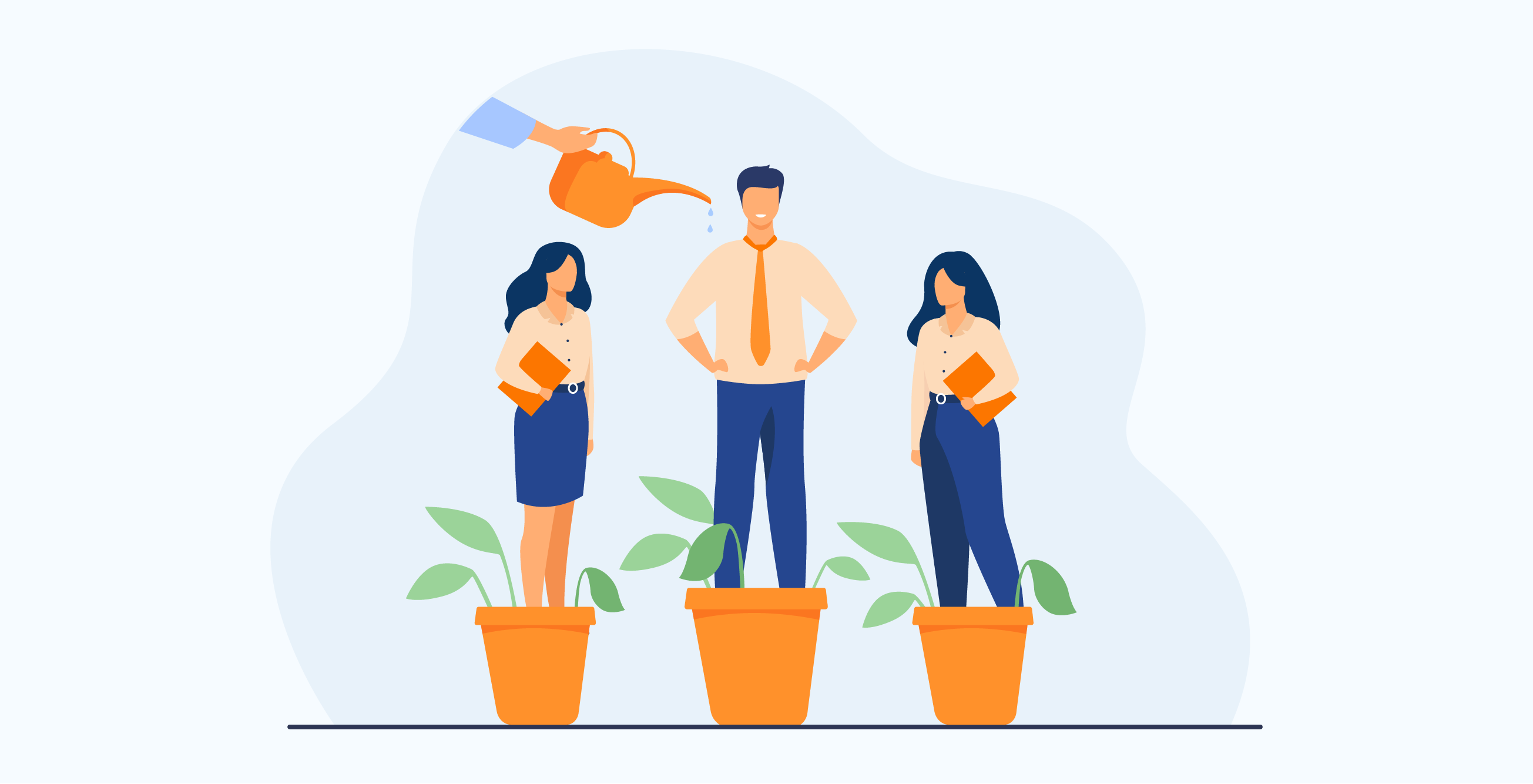 Artigo Quatro elementos para construir um ambiente que inspira e desenvolve pessoas