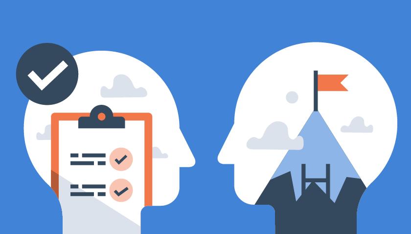 Imagem de capa Mindset de entrega versus mindset de resultado: o que é mais importante?