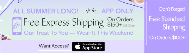Free Express Shipping - App Exclusive