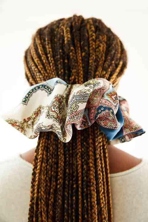 Printed Super Scrunchie