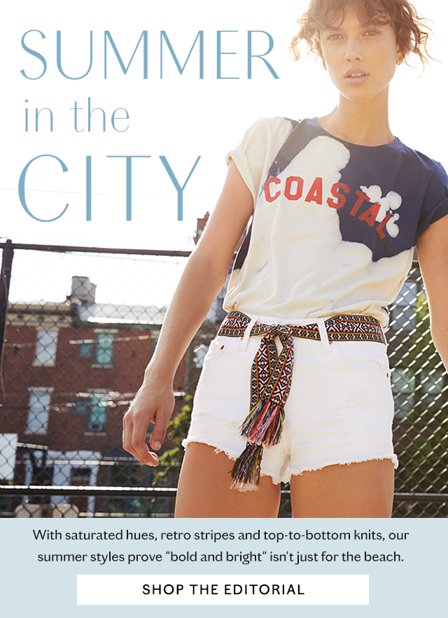 Shop the Summer in the City Lookbook