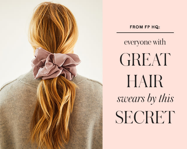 From FP HQ: Everyone With Great Hair Swears By This Secret