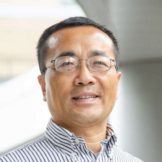Portrait of John Hu