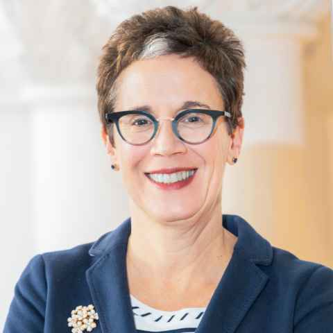 Portrait of Provost Maryanne Reed
