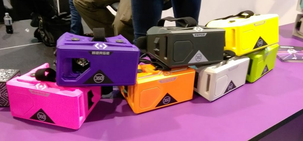 CES VR headsets