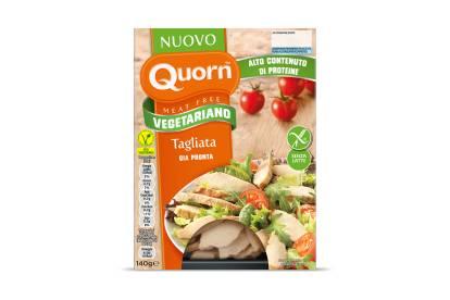 Tagliata Quorn vegetariana