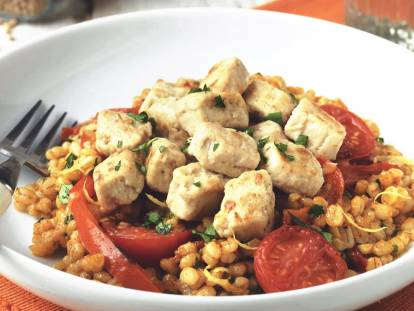 pearl barley risotto recipe with quorn pieces vegetarian recipe